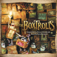 Boxtrolls Original Film Soundtrack CD